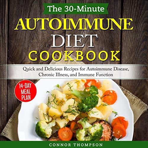 The 30-Minute Autoimmune Diet Cookbook Titelbild