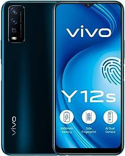 هاتف فيفو واي 12 ثنائي شرائح الاتصال بذاكرة رام 3 جيجا وذاكرة داخلية سعة 32 جيجا، يدعم تقنية الجيل الرابع ال تي اي، لون فا...