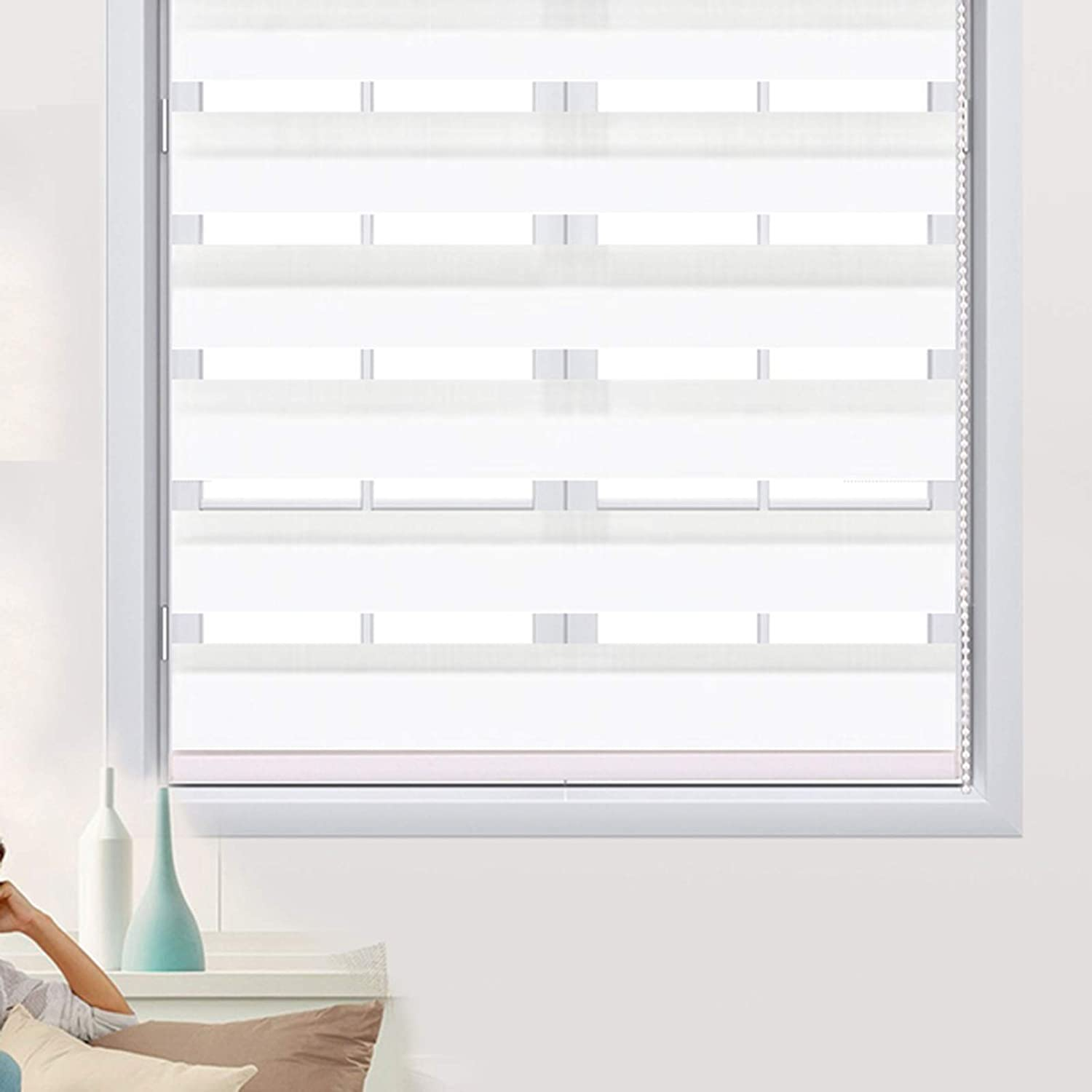 XYUfly20 Perforated Installation of New item Blackout Blinds Gauze Financial sales sale Roller