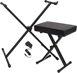 Yamaha Portable Keyboard Accessory Pack with Stand, Bench...