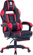 VON RACER Massage Reclining Gaming Chair – Ergonomic High-Back Racing Computer Desk..