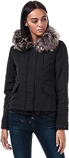 Only Womens Skylar Parka Jacket in Black