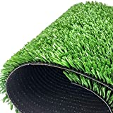 WENZHE Prato Sintetico Tappeti Erba Sintetica Tappeto Verde Erba Artificiale 20 Millimetri Crittografia Interno Ed Esterno Ornamento, più Dimensioni (Color : 20mm, Size : 1x9m)