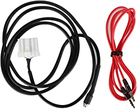 Adaptador de rádio AUX para carro Aramox, cabo adaptador AUX de rádio de 3,5 mm Encaixe fêmea para Mazda 3 6 2006-2013