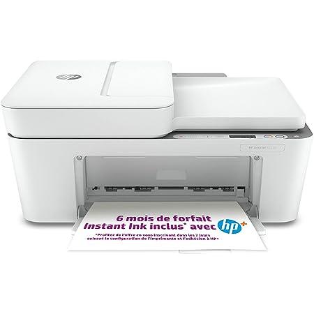 HP DeskJet 4120e Imprimante tout en un - Jet d'encre couleur – 6 mois d'Instant Ink inclus avec HP+, vos cartouches HP livrées chez vous sans avoir à y penser