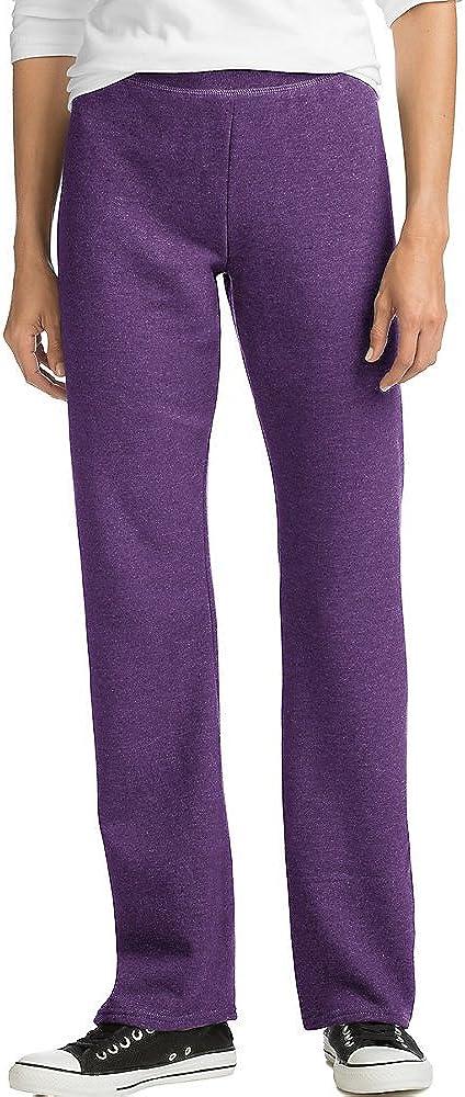 100% quality warranty Hanes ComfortSoft EcoSmart Women's Open Fleece Leg Sweatpants Be super welcome