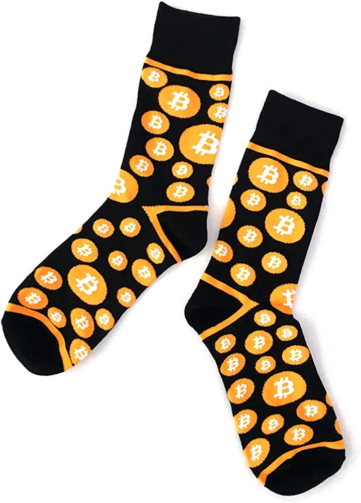 Bitcoin depot Denver Mall Dress Socks pairs 2