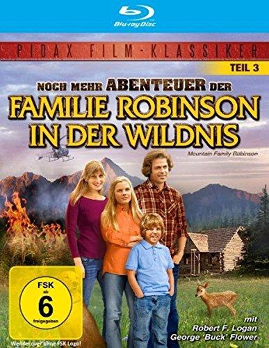 Noch mehr Abenteuer der Familie Robinson in der Wildnis - Teil 3 der Trilogie (Pidax Film-Klassiker) [Blu-ray]