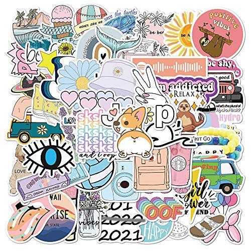 LANYUV 150Pcs Paquete De Pegatinas,Calcomanías Vinilos,Pegatinas Decorativas Stickers,para Laptop,Niños,Coches,Motocicleta,Bicicleta,Skateboard,Pegatinas De Parachoques Pegatinas