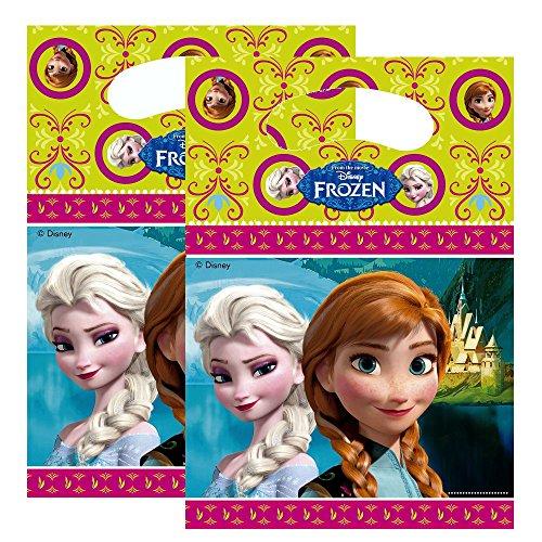 La Reine des Neiges - Disney Frozen - Enfants Party Anniversaire 6 Sacs Cadeaux