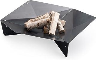 höfats - TRIPLE 65 Feuerschale - Design-Feuerstelle und Grill - für Terrasse und Garten - Corten-Stahl mit Rost-Optik