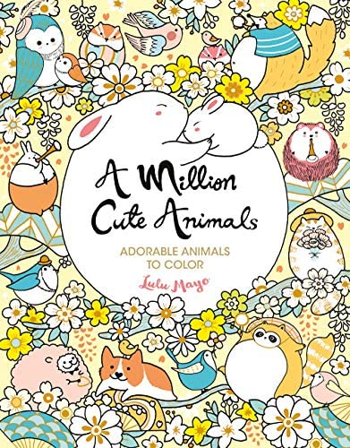 A Million Cute Animals Adorable Animals to Color A Million Creatures to Color Volume 9 product image