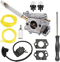 Hayskill 308054079 Carburetor for Ryobi BP42 RY08420 RY08420A Backpack Blower w Ignition Coil Fuel Filter Primer Bulb Carb Adjustment Tool