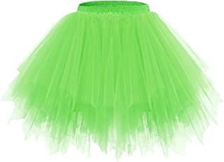 Bridesmay Donna Breve Partito Tutu Vintage Ballerina Gonna Cosplay Sottogonne