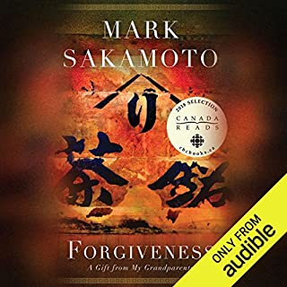 Forgiveness     A Gift from My Grandparents              Auteur(s):                                                                                                                                 Mark Sakamoto                               Narrateur(s):                                                                                                                                 Geoff Sugiyama                      Durée: 7 h et 41 min     210 évaluations     Au global 4,5