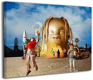 Travis Scott artwork POSTER Print rap canvas astroworld Hip HOp Print