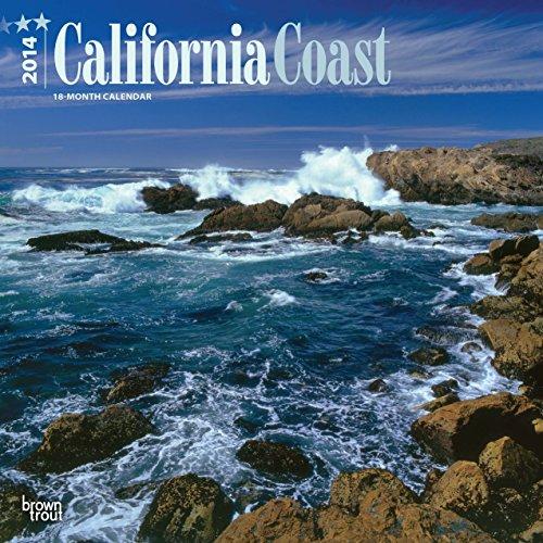 California Coast 2014 - Kalifornische Küste: Original BrownTrout-Kalender [Mehrsprachig] [Kalender]