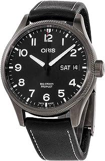 Big Crown ProPilot Black Dial Leather Strap Men's Watch 75276984264LSBLK