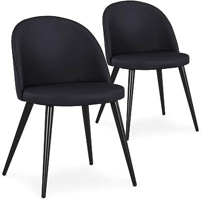 Menzzo Chaise matelassée, Bois, Taille Unique