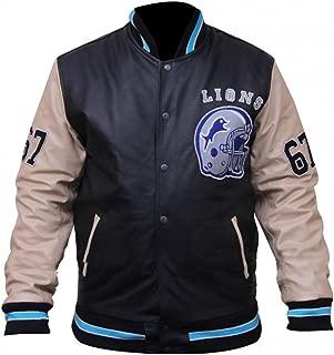 Beverly Hills Cop Eddie Murphy Baseball Letterman Synthetic Leather Jacket