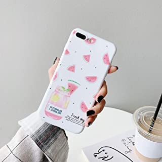 ZXSJK Tpu Cartoon Fruit Case For 6S 6 7 8 Plus Cover Tpu Soft Silicone Case For Iphone Xr Xs Max X Fundas For Iphone Xr Coque,For iPhone XS MAX
