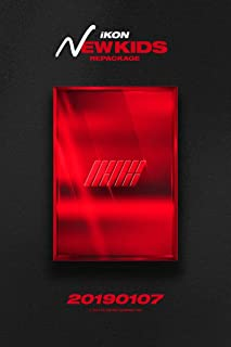 IKON [NEW KIDS REPACKAGE:THE NEW KIDS] Album RANDOM CD+Photo Book+Card+Tracking Number K-POP SEALED