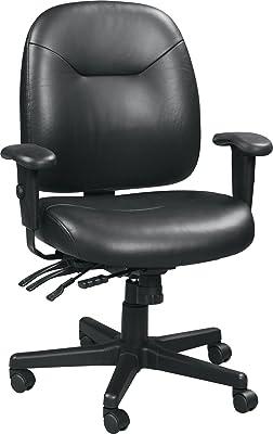 Eurotech Seating 4x4 LE Slider Swivel Chair, Black