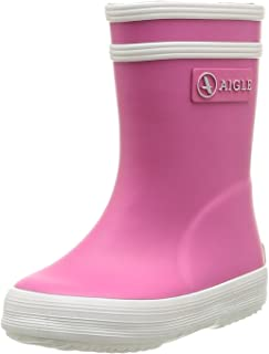 Aigle Baby Girls' Baby Flac (Inf/Tod) - New Rose/White - 19 EU (3 US)
