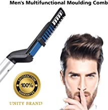 Jini Collection™ Men Quick Beard Straightener Hair Comb Multifunctional Hair Curler Show Cap Tool