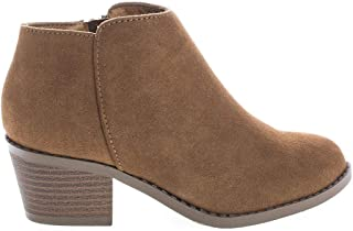 girls suede ankle boots
