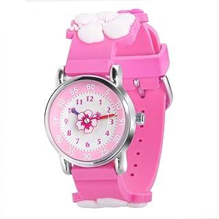 3D Kids Watch - Sport Waterproof Cute Watches - Silicone Wristwatches Toddlers Little Kid Children Girls Boys Birthday Gift
