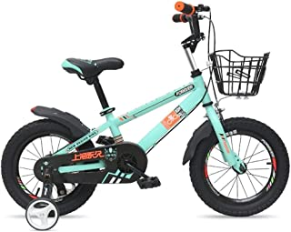 HDGZ Kids' Bikes, Children's Bicycle 12/14 Inch Bicycle 2-8 Year Old Men and Women Outdoor Bicycle Children's Sports Bicyc...