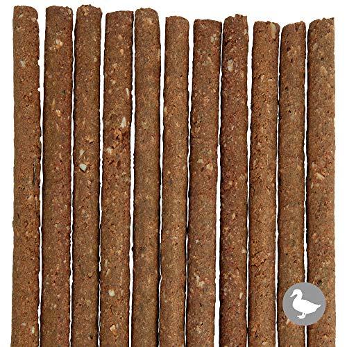 Schecker 500g Knabbersticks PUR - 100% Ente - ohne Getreide und Kartoffel