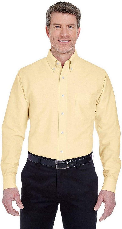 UltraClub 8970 Long Sleeve Oxford Dress Shirt
