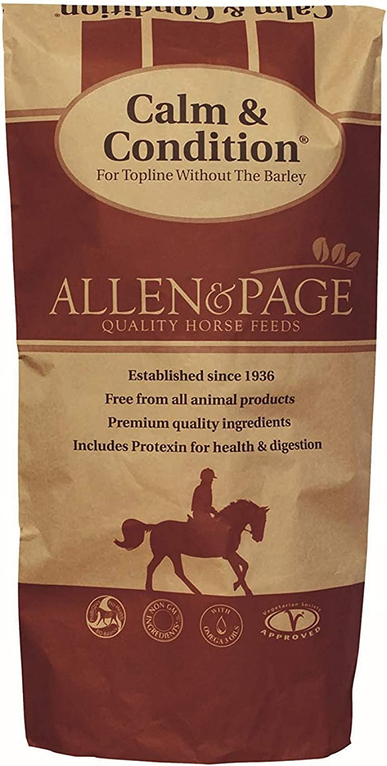 2 x Calm and Condition Horse Feed, 20 kg