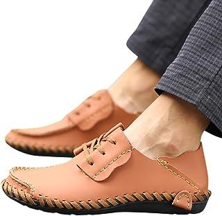 Yvelands Mocassins (Loafers) Homme Chaussures Bateau Homme Simili Cuir Slip on Daim Mocassins Conduite Chaussures Respiran...