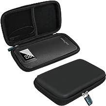 Anleo Hard EVA Travel Case for Uni-Yeap 11000mAh / DULLA M50000 External Battery Charger Power Bank Color: Black