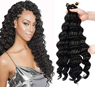20inch deep wave braiding hair Extensions Ombre bohemian Crochet Braids 6piece/lot Synthetic deep twist crochet hair
