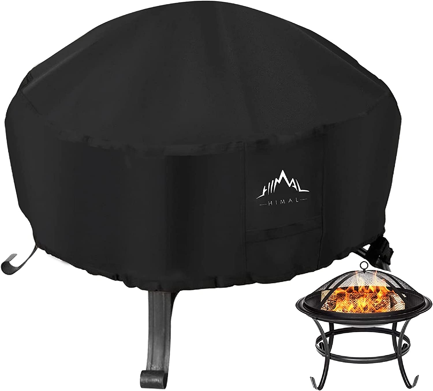 Himal Courier shipping free Outdoors Fire Max 44% OFF Pit Cover- 600D Waterproof Duty Heavy Polyst