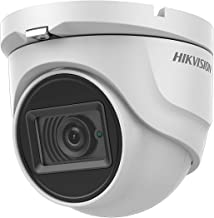 Hikvision 4K 8MP Turbo HD Analog 4-in-1 Outdoor Dome Turret Camera DS-2CE76U1T-ITMF, IP67 Rated for Outdoor Use, 2.8mm Fixed Lens, 30m IR Distance, OSD menu