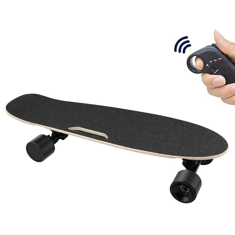 オプションかなり怪物安全エレクトリックスケートボード、ワイヤレスリモコン、耐久8キロ、速度15キロ/ H、ティーンエイジャー/ 10代/大人のための適切な