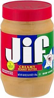 Jif Creamy Peanut Butter, 48 Ounce, 2 count