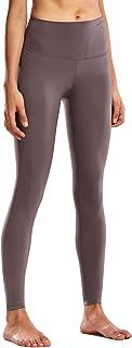 CRZ YOGA Mujer Tight Deportivas Leggins elásticas Cintura Alta para Yoga y Ejercicio-71cm