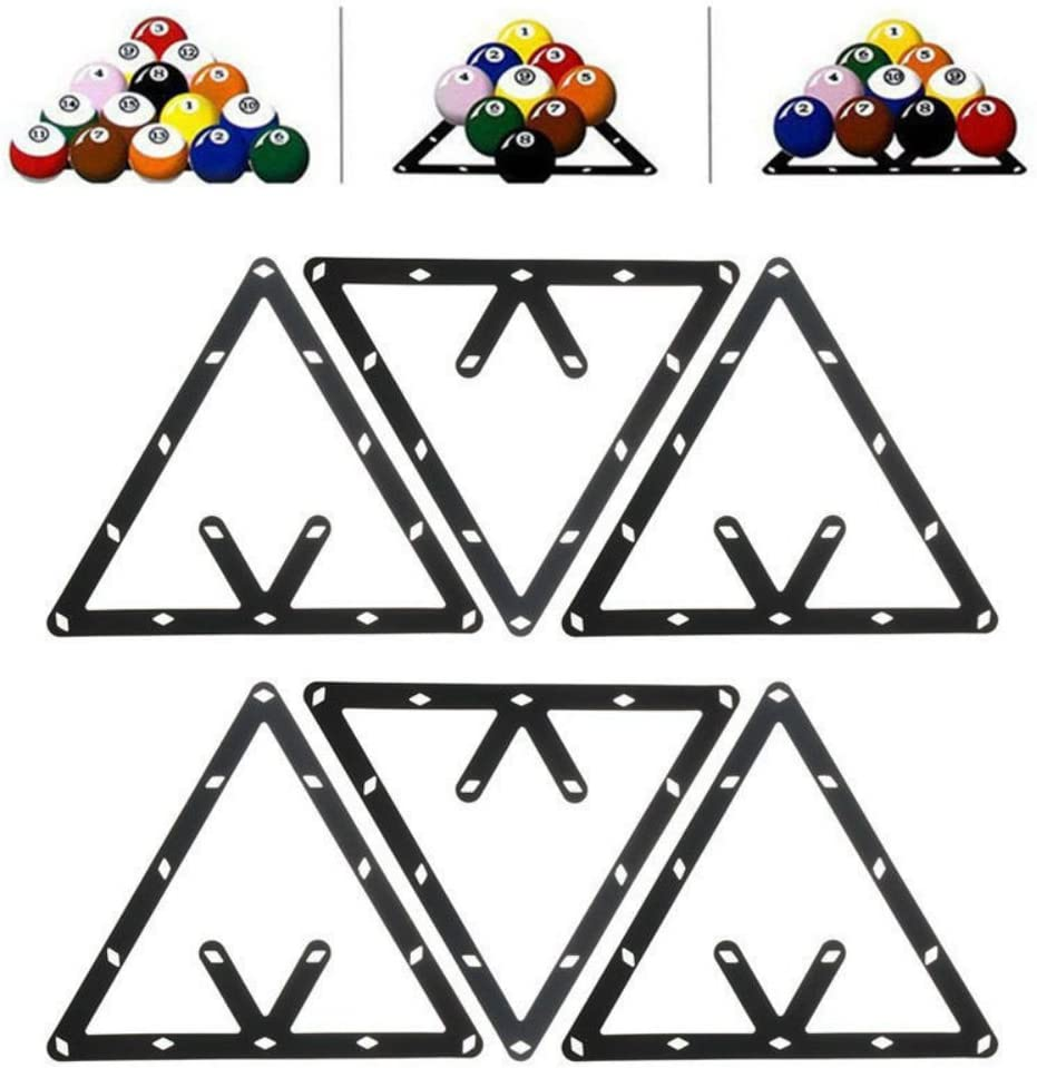 6PCS 8 9 or New Shipping Free Shipping 10 A surprise price is realized Ball Magic Positioning Acc Rack Cue Pool Billiard