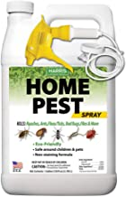 Harris New Green Home Insect Killer, Gallon Spray with Odorless and Non Staining Residual Formula - Kills Ants, Bed Bugs, Roaches, Spiders, Stink Bugs, Fleas, Mosquitos, Flies and More