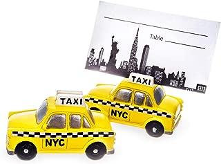 Abby Smith New York Taxi Place Card Holder - 6pcs