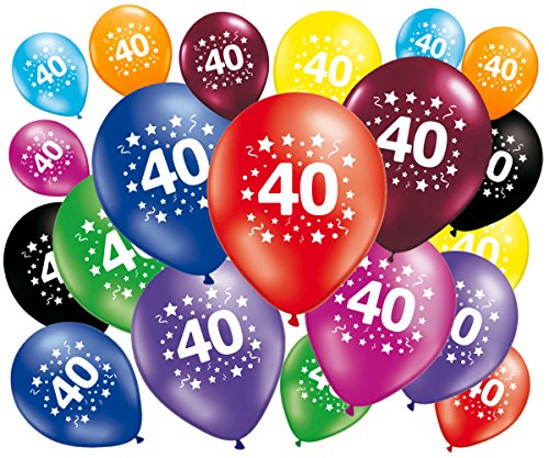 Fabsud Luftballons, 40 Jahre, 20 Stück