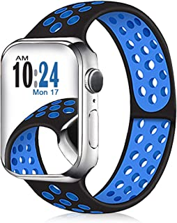 DOBSTFY Band Compatible for Watch 38mm 40mm 42mm 44mm Bands, Breathable Wristband Strap Replacement for Smartwatch Series 5/4/3/2/1 All Various Styles, Men Women Small/Large