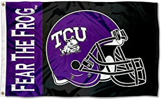 tcu football helmet logo