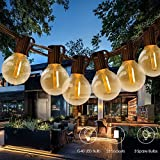 Catena Luminosa Esterno 25+3 LED Bulbi,Tomshine Illuminazione Giardino Luci Stringa Lampadina con 28 G40 LED Bulbi [Classe di efficienza energetica A+]